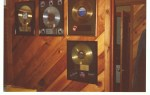 Gold, Silver and Platinum Discs belonging to another Super Star Producer we worked  with in the Hollywood Hills.