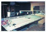 SSL Desk we used for recording many times with well known producers in L.A. (c) Jane Risdon 1991