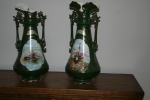 Victorian Vases, now broken