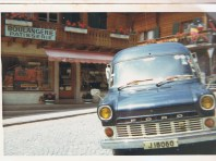 Group Van 1969 in France (c) Jane Risdon 1969