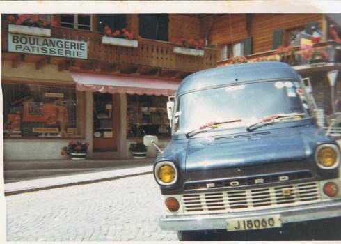 Group Van 1969 in France (c) Jane Risdon 1969