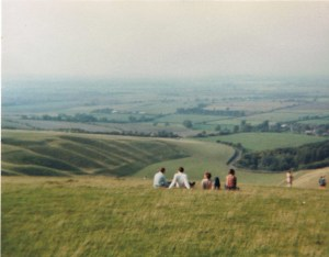 View across The Vale of The White Horse (c) Jane Risdon 2011