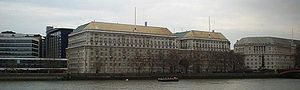 MI5 where Lavinia Birdsong was an Officer until her forced retirement to Ampney Parva