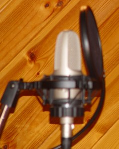 Special mics for special singers (c) Jane Risdon 2012