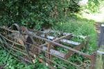 Discover what  rusting farm machinery have to do with my story. (c) Jane Risdon 2012