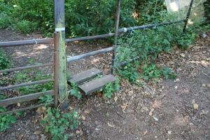 This stile features in My short story; A Walk To Destiny. (c) Jane Risdon 2012 - links on my blog-roll