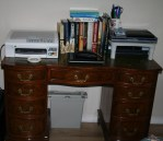 My Workspace (c) Jane Risdon 2012