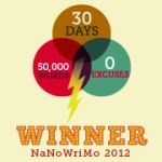 Winner NaNoWriMo 2012