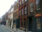 Soho: streets behind the clubs and bars featured in The Debt Collector