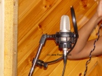 Choice of Mic gives a different feel to a vocal (c) Jane Risdon 2000