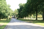 Wellington College drive - inspiration for the drive leading to The Country Club in Ms Birdsong Investigates