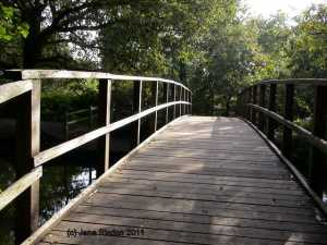 Bridge to where?  (c) Jane Risdon 2013