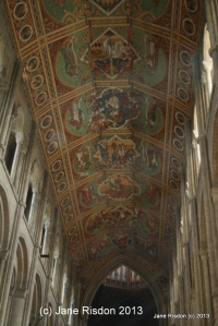 Ceiling of the Cathedral (c) Jane Risdon 2013