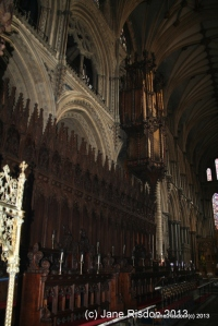 Inside the Cathedral (c) Jane Risdon 2013
