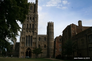 Ely Cathedral (c) Jane Risdon 2013