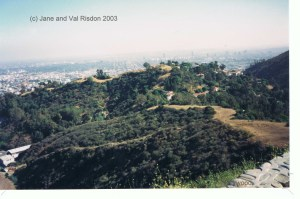 View of Los Angeles riot-free (c) Jane Risdon 2003