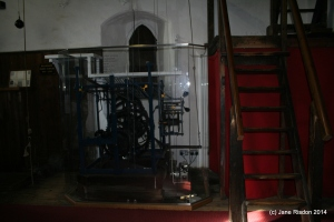 Mechanism of one of the oldest church turret clocks still functioning (c) Jane Risdon 2014
