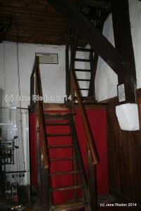 These get narrow and steeper as you climb (c) Jane Risdon 2014 St Mary's Parish Church, Rye