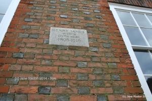 Henry James lived here (c) Jane Risdon 2014