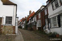 Rye in Sussex - an inspirational place. (c) Jane Risdon 2014