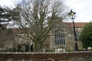 St Mary's Parish Church, Rye - 900 years old.  (c) Jane Risdon 2014