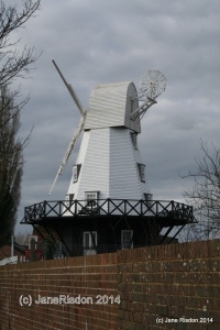 Windmill in Rye (c) Jane Risdon 2014