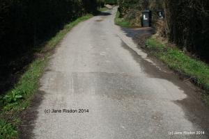 Sleeping Policeman - a/k/a a Speed Hump (c) Jane Risdon 2014