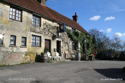 Local Pub circa 1340 (c) Jane Risdon 2014