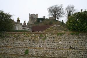 Castle ruins (c) Jane Risdon 2014