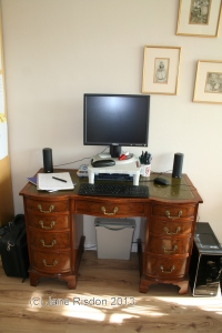 My Writing Space (c) Jane Risdon 2014