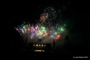 Fireworks at Audley End House taken by Jane Risdon 2014 (c) Jane Risdon 2014