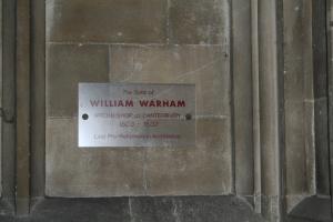 Archbishop Warham (c) Jane Risdon 2015
