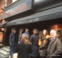 Ronnie Scott's Famous Jazz Club (c) Jane Risdon 2015