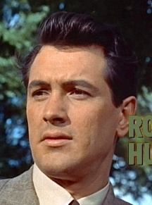 Rock Hudson in Movie Still for Giant. Public Domain