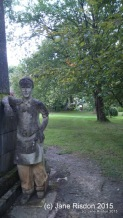 Monument to a gardener (c) Jane Risdon 2015
