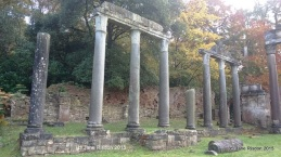 Leptis Magna Virginia Water Lake (c) Jane Risdon 2015