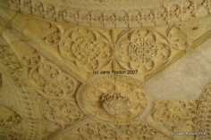 The entrance gate ceiling (c) Jane Risdon 2007