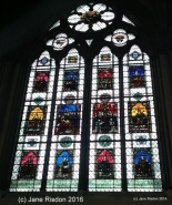 Commemorative Window (c) Jane Risdon 2016