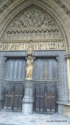 Doors into The Abbey (c) Jane Risdon 2016