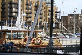 Royal Barge (c) Jane Risdon 2014