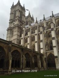 Westminster Abbey (c) Jane Risdon 2016