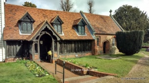 Greensted Church: oldest wooden church in the world.