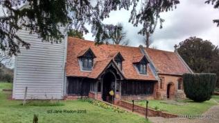 Greensted Church (c) Jane Risdon 2016