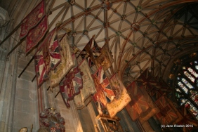 Canterbury Cathedral where a relative is buried