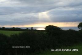 Gorran early morning sunrise (c) Jane Risdon 2016
