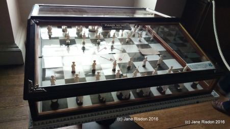 Chess Set Kedleston Hall (c) Jane Risdon 2016