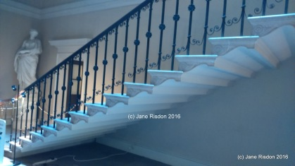 Great Staircase Kedleston Adams Design (c) Jane Risdon 2016