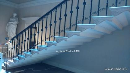 Great Staircase Kedleston Adams Design (c) Jane Risdon 2016