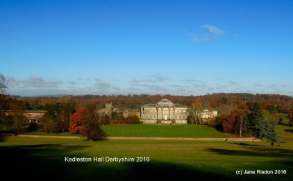 Kedleston Hall (c) Sally Duffell 2016