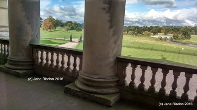 Front view of Kedleston Hall 2016